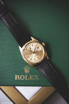 Chocolates? - #Rolex Day-Date 1803 Preppy Mens Fashion, Mens Fashion Suits, Mens Suits, Men's Fashion, Cool Watches, Rolex Watches, Wrist Watches, Gentleman, Man Style