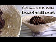 Floreros con botellas de vidrio recicladas - Candy Bu - YouTube