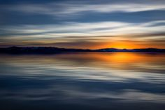 Long exposure at Lake Tahoe ~ abstract photography by Mitchell Derr