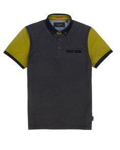 Block colour polo - Bright Green   Tops & T-shirts   Ted Baker UK  Andrew loves shirts like this