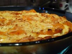 Édesburgonya-felfújt, egyszerűen Lasagna, Macaroni And Cheese, Ethnic Recipes, Food, Diet, Lasagne, Essen, Mac And Cheese, Yemek