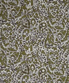 NEW SEASON! Liberty Art Fabrics Lagos Laurel D Tana Lawn | Classic Tana Lawn by Liberty Art Fabrics | Liberty.co.uk