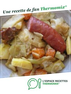 Cabbage stew by koocs. A fan recipe to find in the category Main dish - various on www. Italian Chicken Recipes, My Best Recipe, Healthy Dinner Recipes, Good Food, Food And Drink, Nutrition, Cooking, Fan, Jars