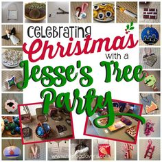 Celebrate Christmas with a Jesse's Tree Party! by Raising Clovers We love celebrating Christmas with a Jesse's Tree devotion. Last year my friends and I got together and made our own fun ornaments and had ourselves a little Jesse's Tree Ornament Exchange Party! It was so fun to see what ornaments everyone came up with for the day they were assigned. I even created a FREE PRINTABLE for a simple Jesse's Tree family devotion.