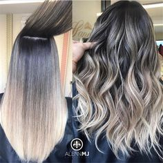 Balayage Blonde Ends - 20 Fabulous Brown Hair with Blonde Highlights Looks to Love - The Trending Hairstyle Hair Color For Women, Hair Color For Black Hair, Ombre Hair Color, Brown Hair Colors, Black Ponytail Hairstyles, Straight Hairstyles, Braided Hairstyles, Trendy Hairstyles, School Hairstyles