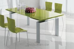 Modern Dining Table Best Tips on a Modern Dining Table Modern Dining Table. A modern dining table is quite different from the traditional ones with respect to various features. The design is one of… White Dining Table Set, Modern Dining Room Tables, Dining Room Design, Green Table, Breakfast Table Round, Eat Breakfast, Contemporary Dining Room Sets, Traditional Dining Tables, Modern Farmhouse Table