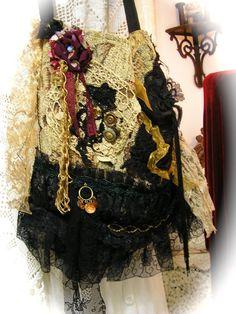 Gypsy Carpet Bag slouchy hobo bag bohemian fabric by GrandmaDede