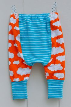 Cloth diaper pants