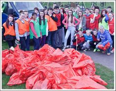 Calderside Clean-up in 2013 #CommunityLinksSL