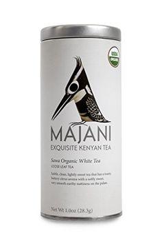 Majani Teas Sawa Organic White Tea Tin *** See this great product.