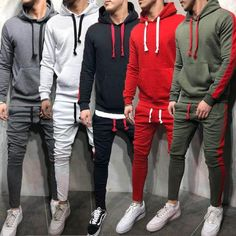 POLO MEN/'S TRACKSUIT SET SCOOBA HOODIE TOP BOTTOMS JOGGERS GYM TRACKIES JOGGING