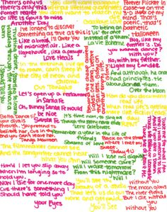 Rent song lyrics. pretty sure these are some of the most amazing song lyrics out there. -This was exactly how my notebooks looked like!!