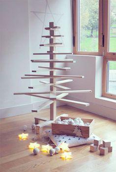DIY Sapin de Noel en bois