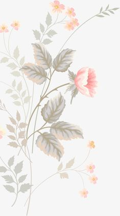 Pink hand-painted flowers PNG and Clipart Cute Wallpaper Backgrounds, Flower Backgrounds, Computer Wallpaper, Aesthetic Iphone Wallpaper, Cartoon Wallpaper, Flower Wallpaper, Screen Wallpaper, Cool Wallpaper, Pattern Wallpaper