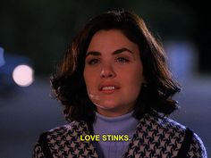 Twin Peaks Audrey Horne love stinks most popular ye-eah who would ever leave you gorgeous twinpeakscaptioned Twin Peaks Tv Show, Twin Peaks 1990, Audrey Twin Peaks, David Lynch, Twin Peaks Quotes, Sherilyn Fenn, Audrey Horne, Laura Palmer, Between Two Worlds