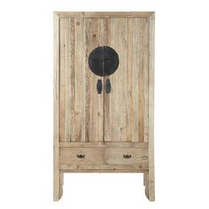 Recycled elm wedding armoire W 100cm