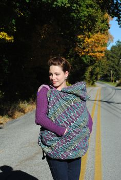 Sew Toot Cozy Carrier for baby wearing sewing pattern