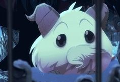 I think this gif is adorable. I like how they payed attention to the detail of the poro. I dont think they should change anything