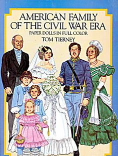 "1986 Tom Tierney ""clark Gable"" Paper Dolls"