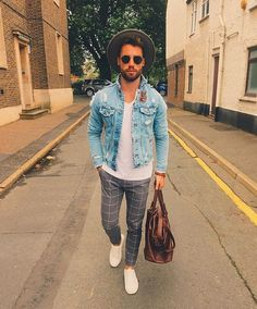 Check out @gentwithstreetstyle Cool outfit by @chezrust #mensfashion_guide…
