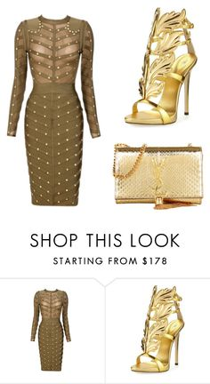 Untitled #163 by fashionaly-inspired on Polyvore featuring Posh Girl, Giuseppe Zanotti and Yves Saint Laurent