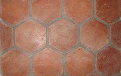 hexagonal terracotta tiles - Google Search