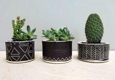 {BLACK. WHITE. YELLOW.}: Handmade Ceramics | Elizabeth Benotti