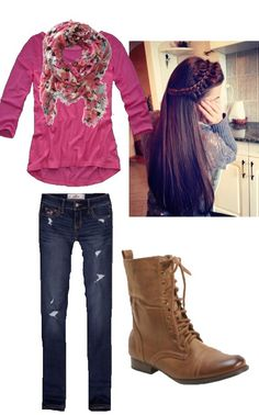 Cute hipster outfit with combat boots