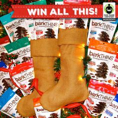 Head over to the barkTHINS or Fair Trade Facebook pages & enter to win some #barkTHINS for and your friends!