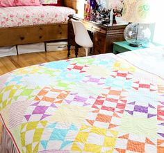We've got 12 beautiful finished quilts to give away will you be one of our lucky winners? Enter Craftsy's Quilt-A-Day Giveaway free today!