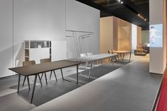 The Axy table by the designer Claudio Bellini for MDF Italia is a system of extensible table for indoor and outdoor use.