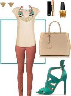"""""""Saturday Afternoon"""" by yazhara1 ❤ liked on Polyvore"""