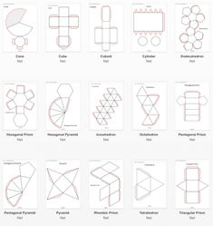Best 12 Diy Crafts – Craft Tips and Accessories – Page 534380312037287158 – SkillOfKing. Paper Toys, Paper Crafts, Diy Crafts, 3d Shapes, Geometric Shapes, Theme Design, Geometry Activities, Origami Paper Art, Concrete Art