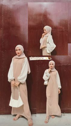 Long Skirt Fashion, Modest Fashion Hijab, Fashion Outfits, Hijab Outfit, Ootd Hijab, Hijab Style Tutorial, Muslim Women Fashion, Hijab Fashionista, Hijab Fashion Inspiration