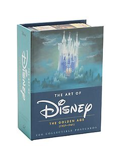 So perfect you won't wanna mail them! // The Art Of Disney The Golden Age Postcard Collection
