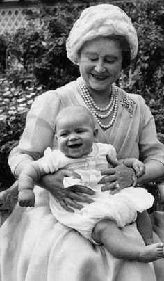 The Queen Mother, Prince Andrew
