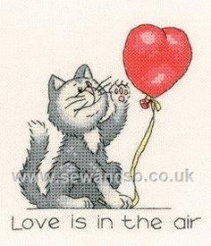 Shop online for February Cat Cross Stitch Kit at sewandso.co.uk. Browse our great range of cross stitch and needlecraft products, in stock, with great prices and fast delivery.