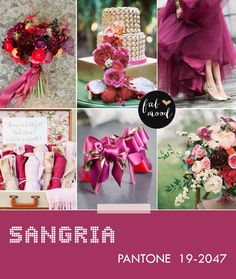 Sangria Wedding Pantone Fall 2017 Color This And Aurora Red Are My Favs