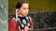 Autumn Peltier, a from Manitoulin Island on Georgian Bay, delivered a strong message to the United Nations General Assembly that the world needs to stop polluting its water. Justin Trudeau, Harrison Ford, Manitoulin Island, United Nations General Assembly, Environmental Justice, World Water Day, New Politics