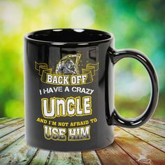 Back Off   I Have A Crazy Uncle Great t-shirts, mugs, bags, hoodie, sweatshirt, sleeve tee gift for aunt, auntie from niece, nephew or any girls, boys, children, friends, men, women on birthday, mother's day, father's day, Christmas or any anniversaries, holidays, occasions.
