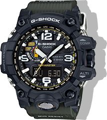 Built for mastering your environment - in the sky, on land and out to sea. See G-SHOCK Master of G