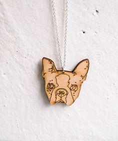 Boston Terrier necklace, 18 EUR