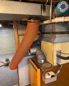 """Air Duct Pros, Inc on Instagram: """"Hose hooked up from our HP20 gas powered machine outside to the main trunk line. #airductcleaning"""" Cleaning Air Vents, Duct Cleaning, Maine, Trunks, Home Appliances, Instagram, Drift Wood, House Appliances"""