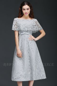 Diy Crafts - Looking for in Satin,Lace, A-line style, and Gorgeous Lace work? Babyonlinewholesale has all covered on this elegant ALEXIS Stylish Dress Designs, Stylish Dresses, Simple Dresses, Elegant Dresses, Pretty Dresses, Fashion Dresses, Dress Brokat Modern, Kebaya Modern Dress, Kebaya Dress