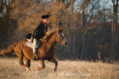 Captain Jack Jouett Rides to Warn Thomas Jefferson that British Troops are Closing in on Monticello.