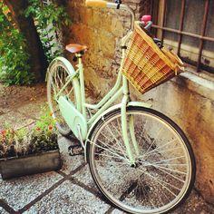 Green mint bike