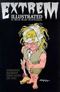 Extrem Illustrated #1 Special Variant Edition zur Comic-Börse Berlin April 1999
