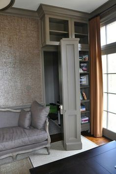 52 Trendy ideas for hidden door bookcase secret passage safe room Room Door Design, House Design, Bookshelf Door, Bookshelf Ideas, Diy Bookcases, Book Shelves, Panic Rooms, Hidden Spaces, Hidden Rooms In Houses