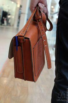 22bea812b416 Мужские сумки ручной работы. Сумка кожаная мужская. Little Birds (Дарья и  Юлиана). Ярмарка Мастеров. Сумка ручной работы