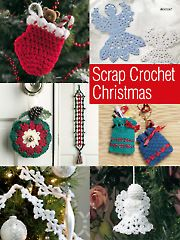 Scrap Crochet Christmas crochet download from www.AnniesCatalog.com. Order here: https://www.anniescatalog.com/detail.html?prod_id=114043